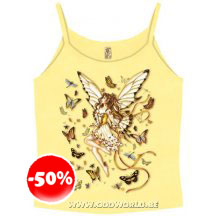 Golden Wings Top T-shirt Fairy