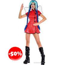Rock Hard Fairies Su-li Chinese Fairy Costume And Wig