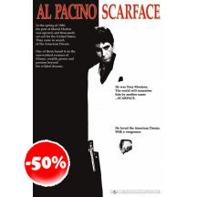 Scarface Movie One-sheet Poster