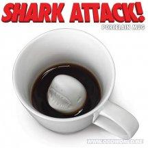 Shark Attack Haai Aanval Porceleinen Koffie Tas Beker Nerd Speeltje