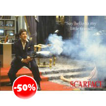 Scarface Say Hello Poster