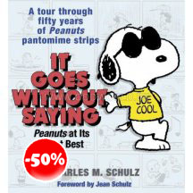 Snoopy Peanuts It Goes With Out Saying Boek