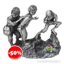 The Lord Of The Rings Frodo, Sam and Gollum Miniatuur Beeld