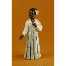 All That Jazz Singer White Dress Standard Statue
