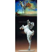 Salvador Dali Horse Statue