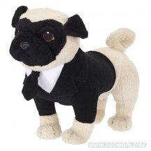 Men In Black Frank The Pug Talking Dog Plush
