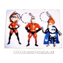 The Incredibles Random Keychain