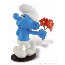 Les Schtroumpfs Le Schtroumpf Amoureux Statue