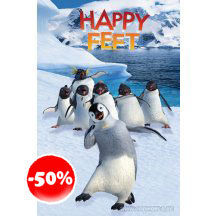 Happy Feet Mumble And Friends Poster