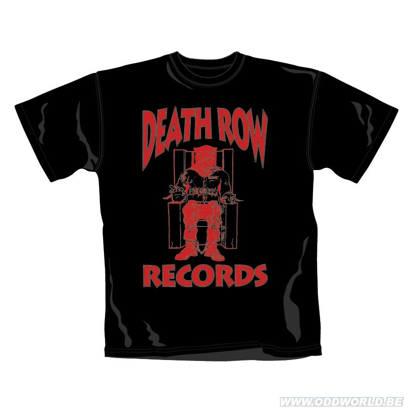 Death row records logo t shirt loose fit odd world